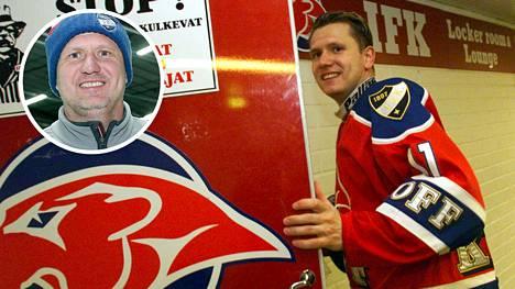 Jan Caloun dominoi HIFK:ssa 2000-luvun vaihteessa.