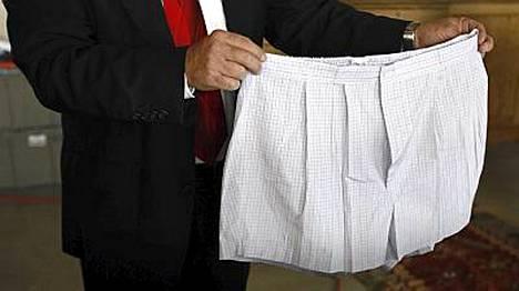 Bernard Madoffin alushousut.