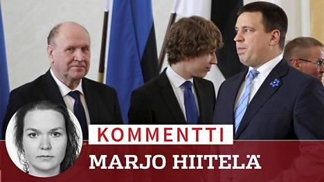 Tällä viikolla Viron pääministeri Jüri Ratasin (oik.) hien sai pintaan sisäministeri Mart Helme (vas.), eikä hän ollut edes ainoa.