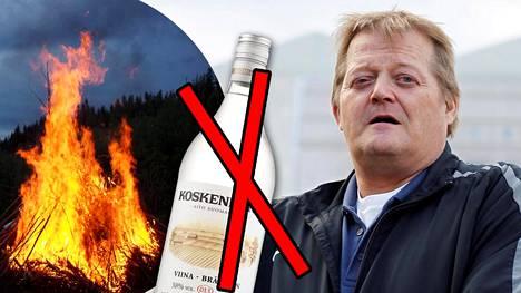 Seppo Räty ei ostanut kossupulloa juhannukseksi.