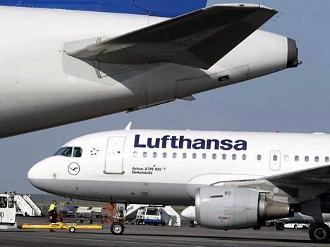 142 Lufhansan lentoa on epruttu keskiviikkona.