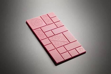 Suklaan väri tulee erityisistä kaakaopavuista.
