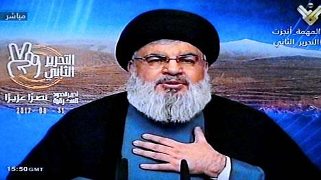 Olemme voittaneet Syyrian sodan, Hizbollah-johtaja Sayyed Hassan Nasrallah sanoi.