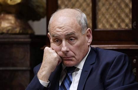 John Kelly väistyi Valkoisen talon kansliapäällikön paikalta vuodenvaihteessa.