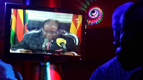 """Mugabe piti sunnuntaina sekavan puheen, joka jätti kaiken auki – """"Ei mitään tekemistä todellisuuden kanssa"""""""
