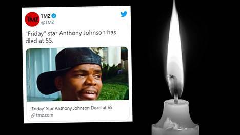 Anthony Johnson muistetaan kenties parhaiten Ezalin roolista vuoden 1995 hittielokuvassa Friday.