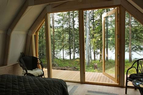 Hidden House on yksi Suomen ensimmäisistä glamping-kohteista.