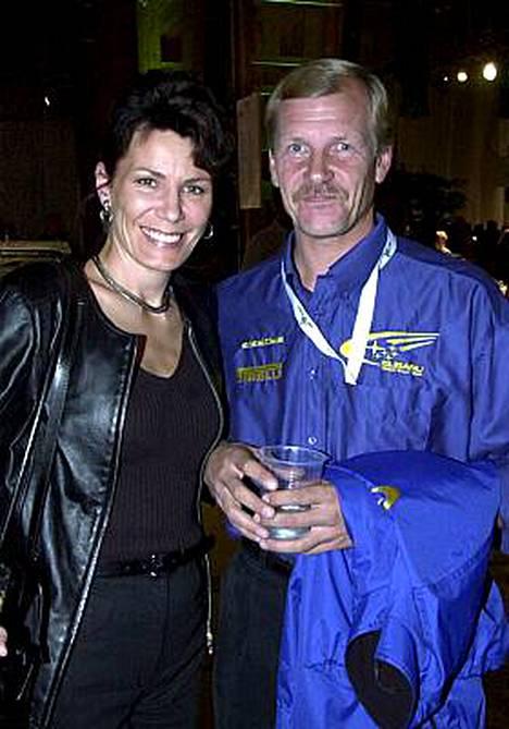 Pirjo ja Juha Kankkunen ovat jättäneet avioerohakemuksensa.