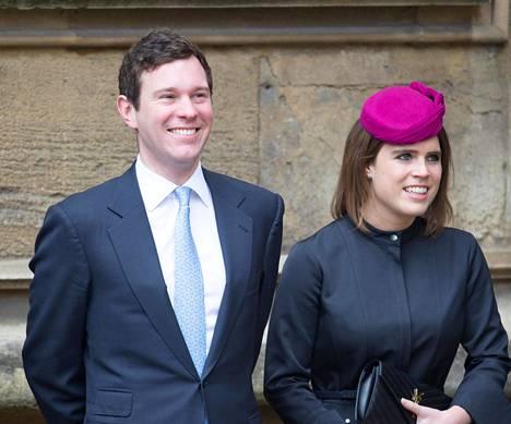 Eugenie ja Jack menevät naimisiin ensi lokakuussa Windsorin linnassa.