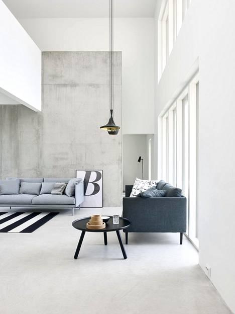 Wilma-sohva on Suomi-koti-osastolla, jossa esitellään suomalaista huippuosaamista.