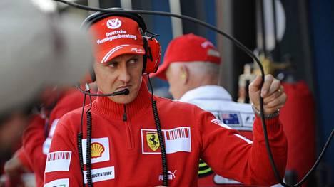 Michael Schumacher vuonna 2009.