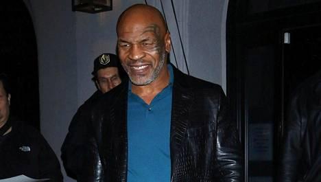 Hurjasti painoaan pudottanut Tyson maaliskuussa 2020.