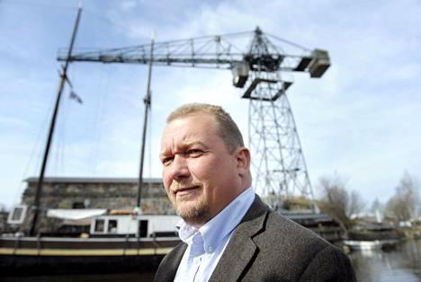 Merenkulkuyhtiö Alfons Håkansin johtaja Joakim Håkans.