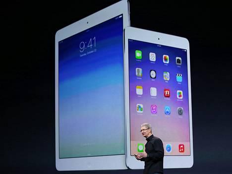 Ehkä Apple ei halua mainostaa julkaisua liikaa. Laitteita ei välttämättä ole paljoa saatavilla.