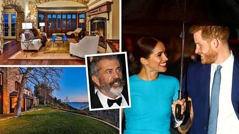 Meghanin ja Harryn huhutaan ostaneen Mel Gibsonin entisen kotitalon.