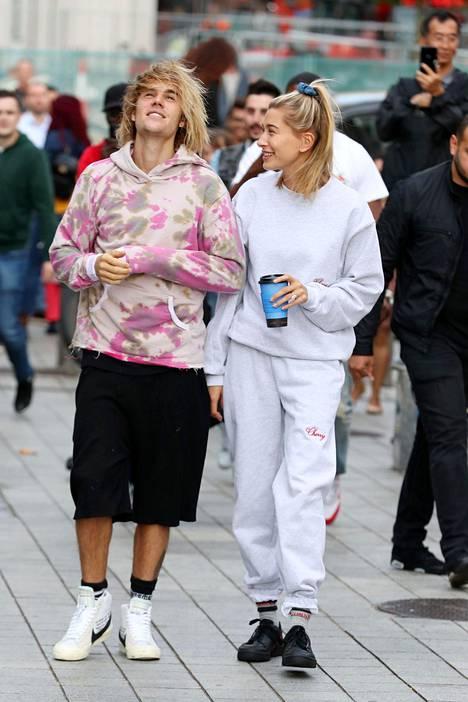 Justin Bieber ja Hailey Baldwin ovat julkisuudessa vakuuttaneet olevansa hyvin onnellisia.