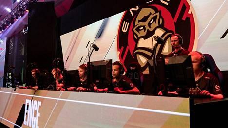 ENCEn CS-joukkue kuvattuna joulukuussa 2019.