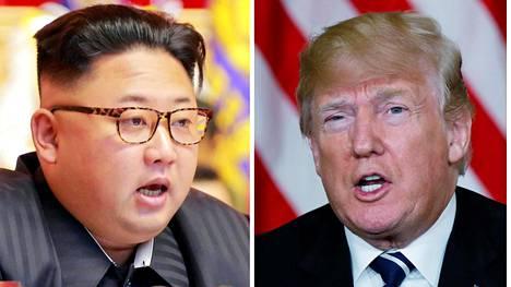 Kim Jong-unin ja Donald Trumpin on määrä tavata lähiaikoina.