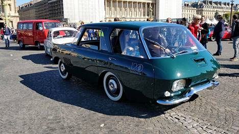 Takavuosien Renault-prototyyppi näytti näin hurjalta.