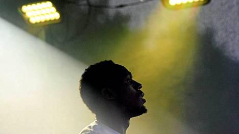Usain Bolt ja muu Jamaikan joukkue testattiin Moskovassa ennen lauantaina alkavia MM-kisoja.
