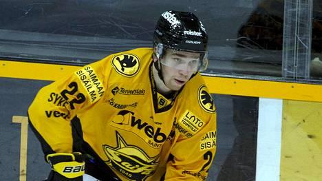 Santeri Virtanen (188 cm/92 kg) nousi SaiPassa luottopelaajien joukkoon.