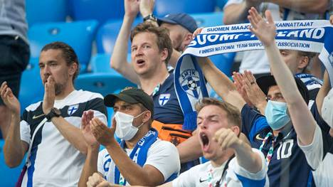 Suomen kannattajien intohimoinen tuki oli Kanervan ja Sparvin mieleen.