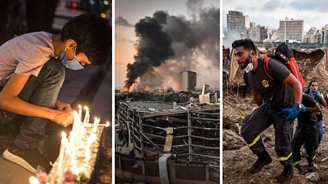 Beirutin tiistainen räjähdys aiheutti tuhoa laajalla alueella.