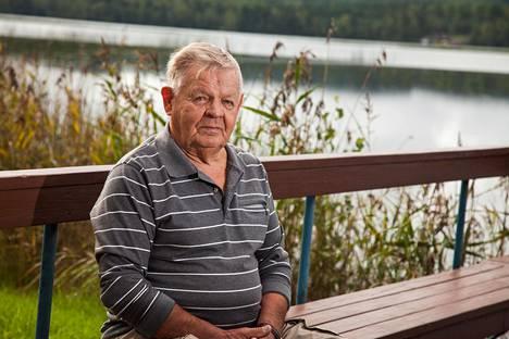 Estonialta pelastunut Vilho Itäranta.