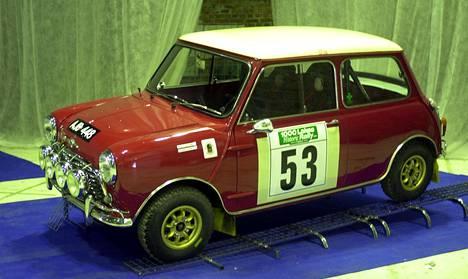 Morris Mini Cooper S 1300.