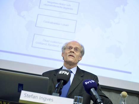Ruotsin keskuspankin pääjohtaja Stefan Ingves.