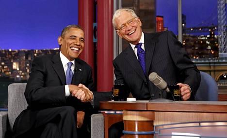 David Letterman jää eläkkeelle ensi vuonna.