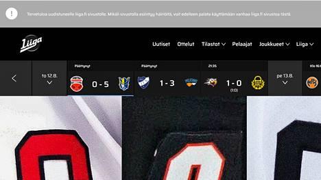– Etusivulla pistävät ensimmäisenä silmiin huonolaatuiset kuvat. Sivuston rakenne on puolestaan hyvin vanhanaikainen, asiantuntija kommentoi SM-liigan uusia nettisivuja.