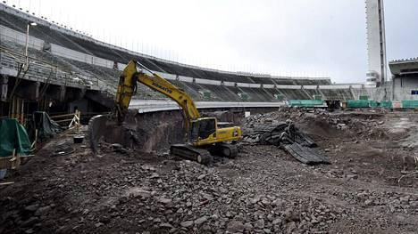 Olympiastadion valmistui vuonna 1938. Käynnissä olevan uudistusurakan on määrä valmistua vuonna 2019.