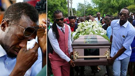 Usain Bolt hyvästeli ystävänsä Germaine Masonin surun murtamana