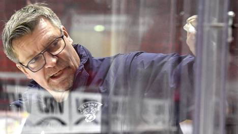 Jukka Jalonen valmensi Leijonat viime keväänä maailmanmestariksi.