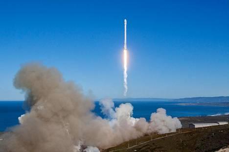 SpaceX:n Falcon 9 -raketti vei Iridium Next -satelliitin avaruuteen tammikuun puolivälissä.