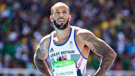 James Ellington juosi Britannian pikaviestijoukkueessa Rio de Janeiron olympiakisoissa – sijoitus oli viides.