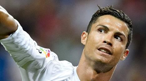 Sauna maistuu Cristiano Ronaldolle.