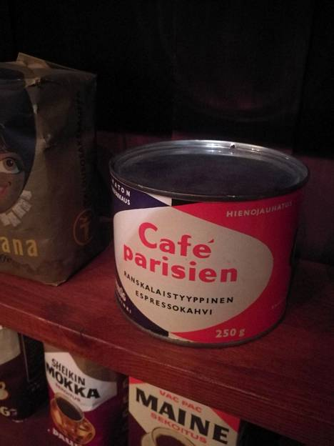 Café Parisien on ollut valikoimissa pitkään.