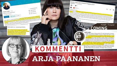 Ohjaaja, näyttelijä Heidi Lindén tunnetaan Suomen Metoo-liikkeen keulakuvana. Hän on kerännyt elokuva-alan naisten ahdistelukokemuksia ja toimittanut kirjan Metoo vallankumous – Miten hiljaisuus rikottiin (Like).