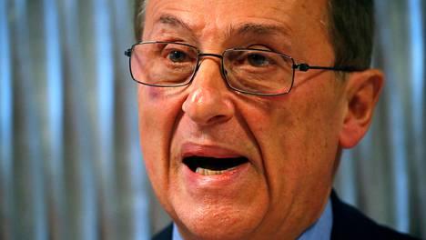 Didier Gailhaguet vaatii ministeriöltä hyvitystä menettämistään ansioista ja kipurahaa henkisistä kärsimyksistä. Kuva pressitilaisuudesta helmikuulta.