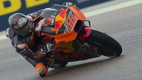 MotoGP-kuljettaja Kallio 11:s Aragonissa – KTM-johto erittäin iloinen suorituksesta