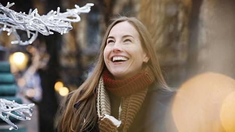 Vuosia Yhdysvalloissa asunut toimittaja Anu Partanen muutti perheensä kanssa takaisin Suomeen reilu vuosi sitten. Kuvassa Partanen tammikuussa 2017.
