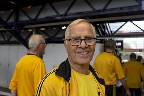 Markku Sariola toimii Aarnen tallin tallipäällikkönä.