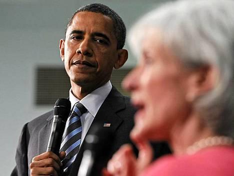 Republikaanit haluavat jarruttaa presidentti Obaman terveydenhuoltouudistusta.