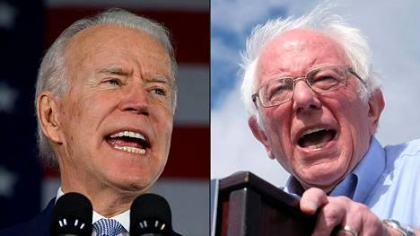 Supertiistain jälkeen näyttää yhä todennäköisemmältä, että demokraattipuolueen presidenttiehdokkaaksi nousee joko Joe Biden, 77, tai Bernie Sanders, 78.