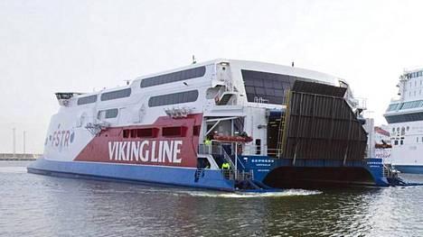 Viking Linen pika-alus jatkaa liikennöintiä jälleen huomenna.