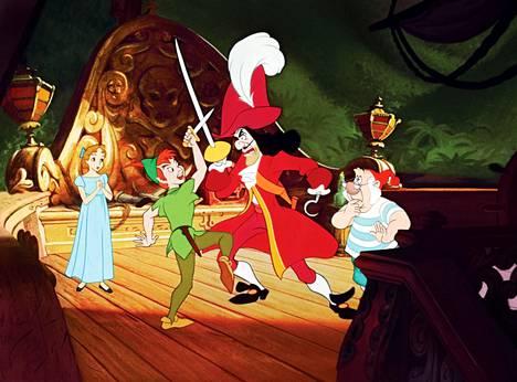 Peter Pan on valmistunut alun perin 50-luvulla.