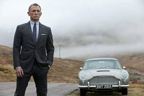Vuodesta 2005 Bondia näytellyt Daniel Craig väistyy tänä vuonna roolistaan.