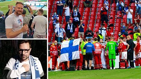 Tunnelma ottelussa muuttui hetkessä, kun tanskalaispelaaja lyyhistyi kentälle.